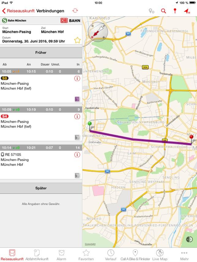 München Navigator Im App Store