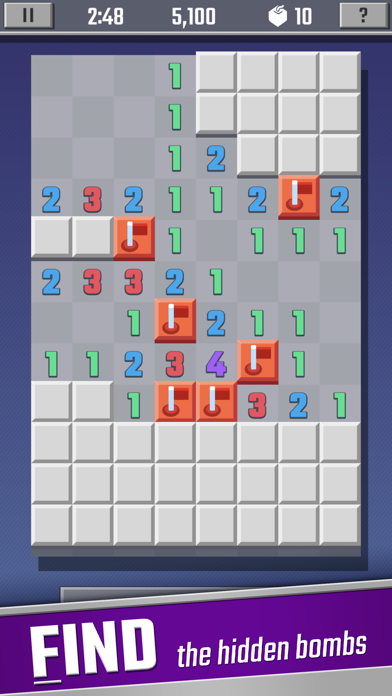 Sweeper Cube: A Classic Puzzle screenshot 2