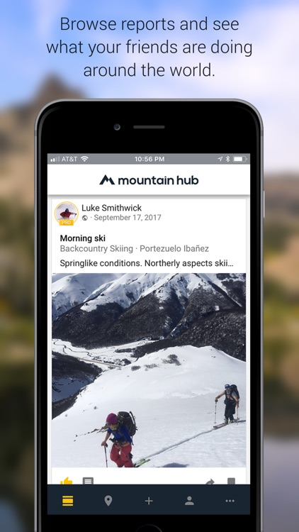 Mountain Hub Adventure Sharing