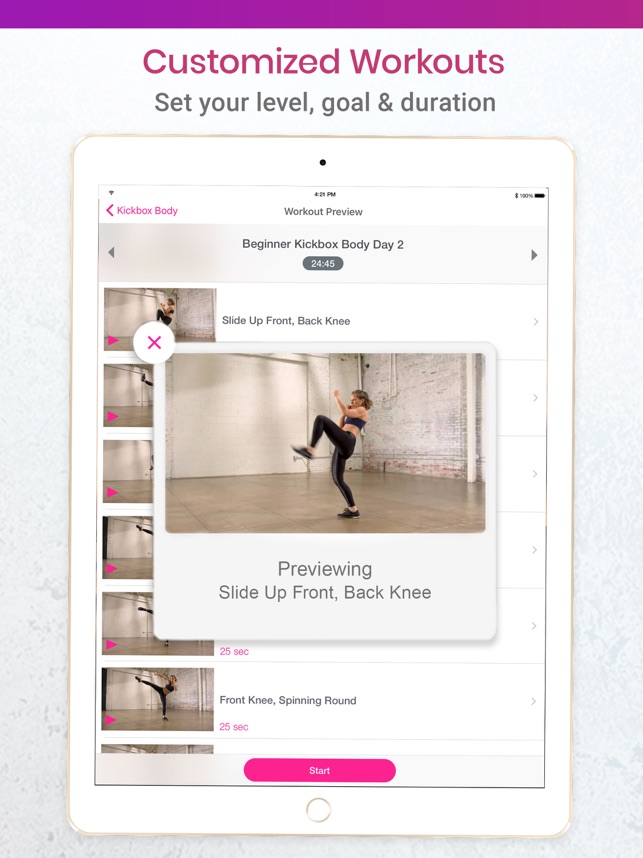 My Fitness by Jillian Michaels on the App Store