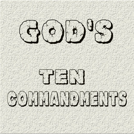 God's Ten Commandments