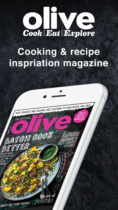 olive Magazine - Food Recipes Screenshot