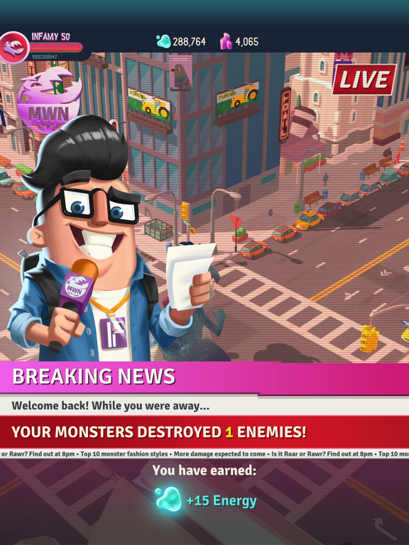 I Am Monster: Idle Destruction screenshot 13