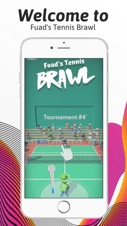 Fuad's Tennis Brawl