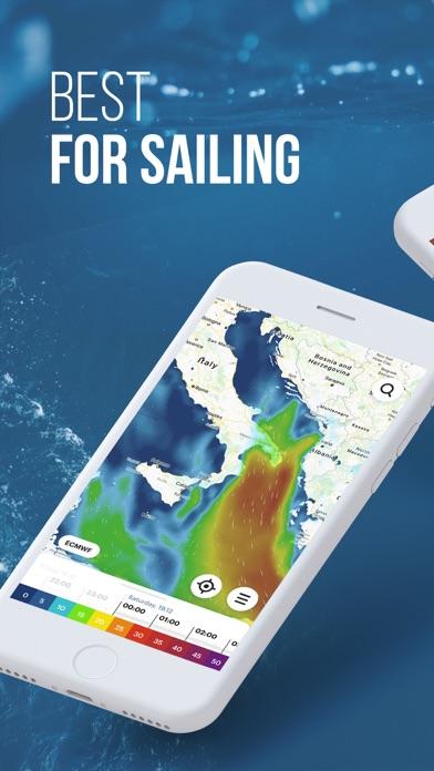 WindHub: marine weather & map på PC