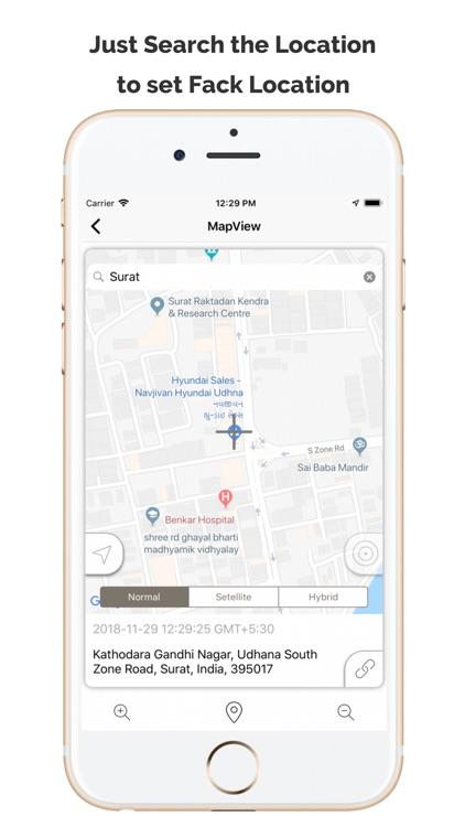Fake GPS Location App by Dharmesh Kathiriya