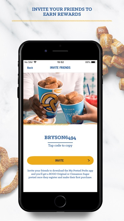 Auntie Anne's Pretzel Perks screenshot-5