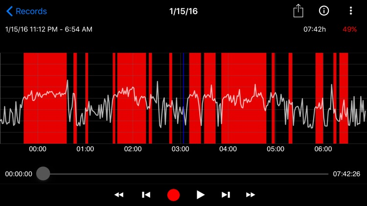 SnoreClock - Do you snore? screenshot-3