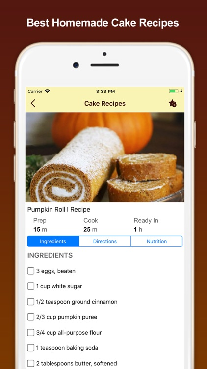 Best Homemade Cake Recipes screenshot-3
