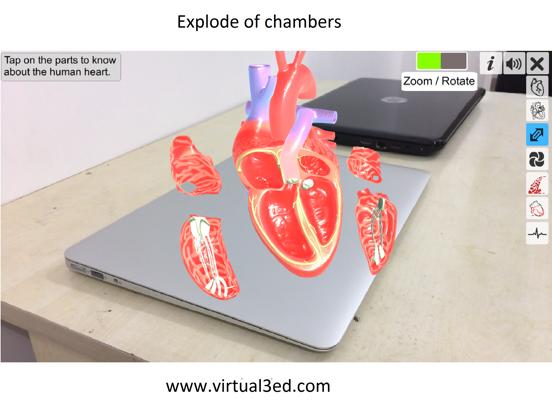 AR Heart - An incredible pump screenshot 8