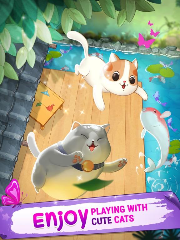 Merge Cats - Meowaii Gardenのおすすめ画像1