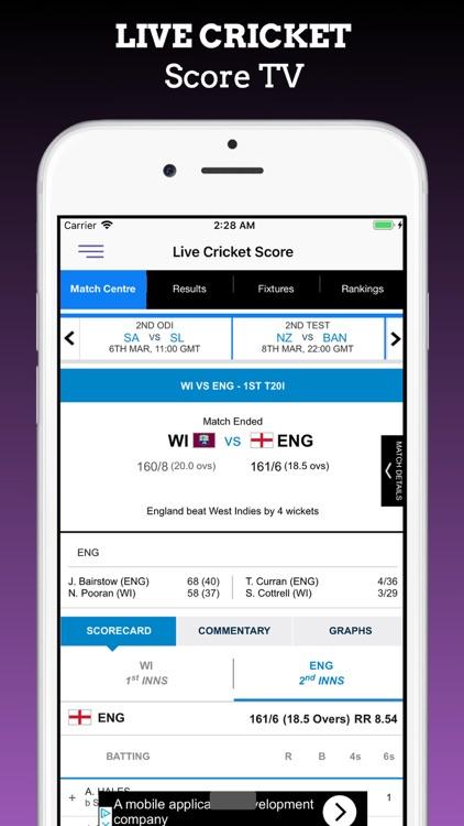Live Cricket Odi T20 Tv screenshot-6
