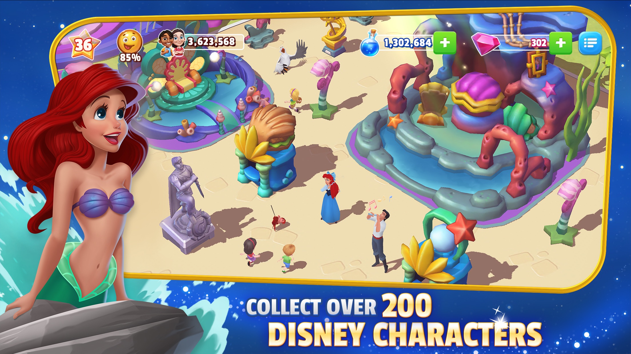 Disney Magic Kingdoms Screenshot