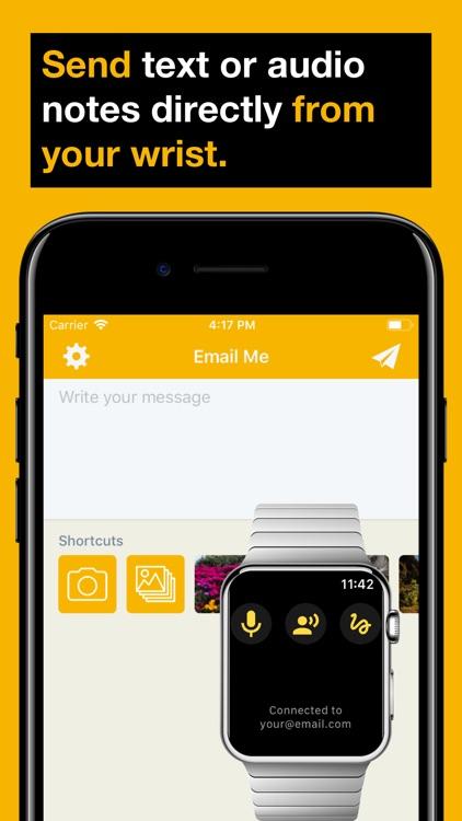 Email Me - Send Notes & Memos screenshot-3