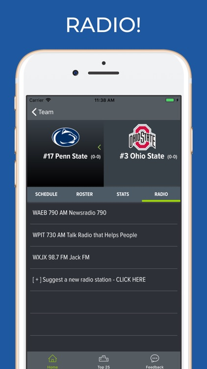 Penn State Football Schedules screenshot-1