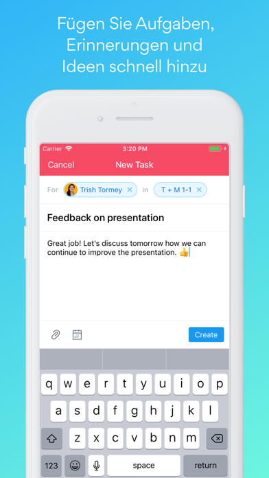Screenshot for Asana: Aufgaben organisieren in Austria App Store