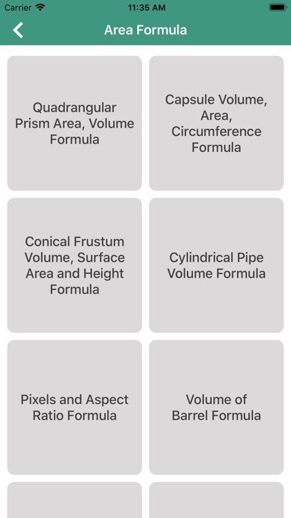 Area Formula and Calc by Satish Patel
