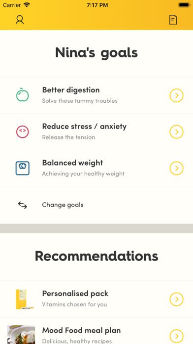 Vitl health screenshot three