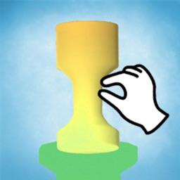 Pottery 3D :shape Jelly shift