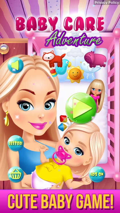 Baby Care Adventure Game screenshot-0