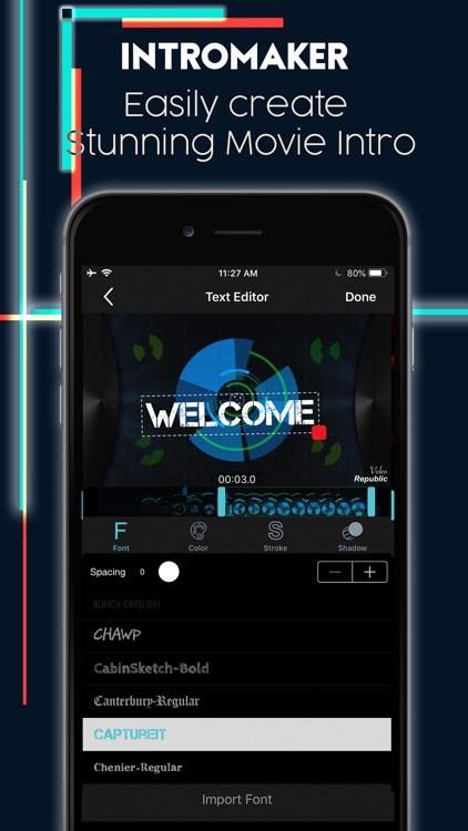 Intro Maker Effects Video Edit screenshot-0