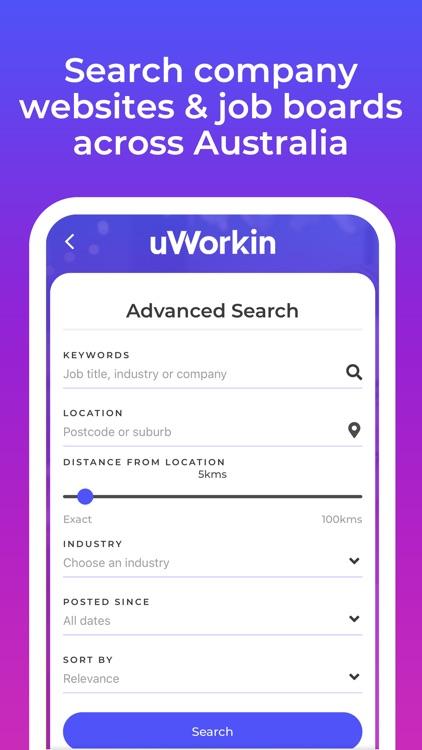 uWorkin Jobs - 100,000+ jobs screenshot-3