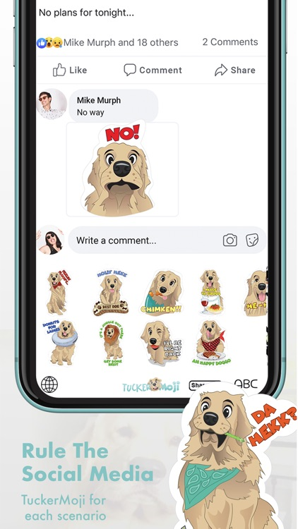 TuckerMoji - Tucker Budzyn Dog screenshot-4