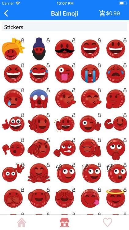 IPL Cricket Emoji Stickers screenshot-5