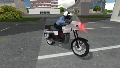 Police Motorbike Simulator 3Dلقطة شاشة7