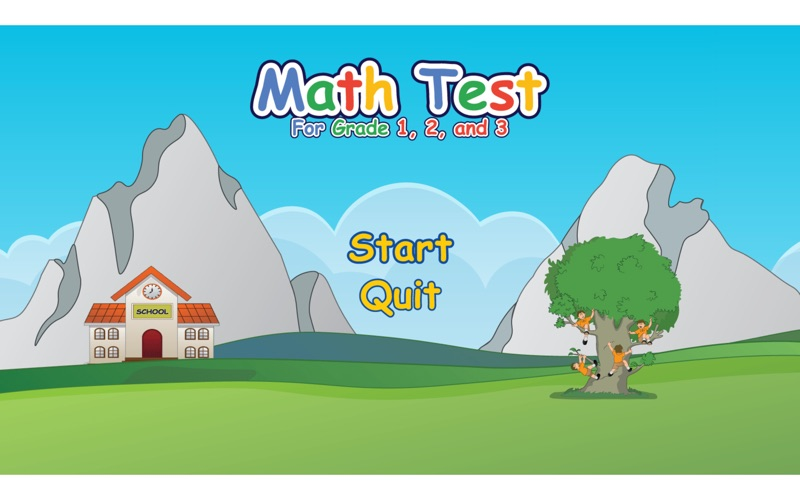 Math Test for Grade 1, 2, 3 for Mac