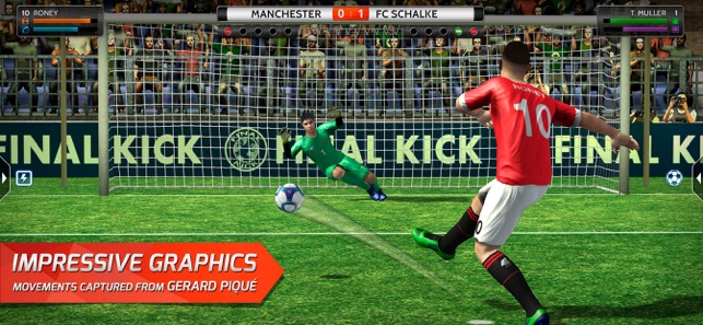 e3afeb89ae4 Final Kick  Online football on the App Store