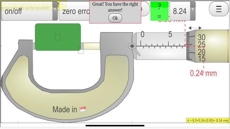 Micrometer Simulator Pro screenshot-5