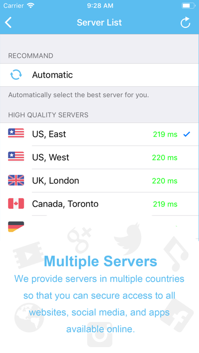 VPN Proxy Master for iPhone screenshot two
