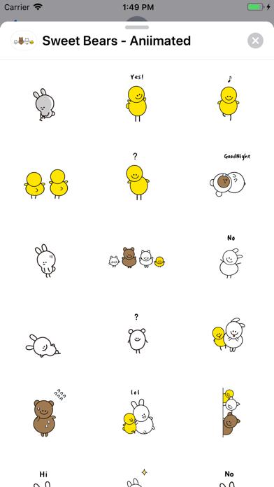 Sweet Bears - Aniimated screenshot 2
