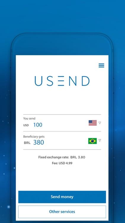 USEND - Send money worldwide screenshot-4