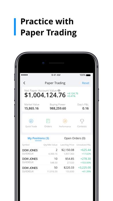 Webull: Trade Stocks & ETFs Screenshot