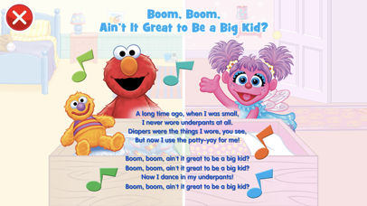 Screenshot for Potty Time with Elmo in United States App Store