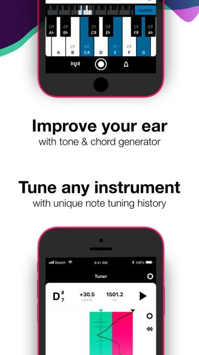 Tunable Tuner & Metronome Screenshots