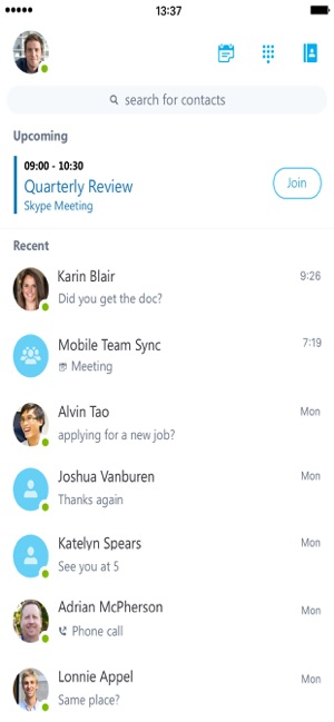 Skype for Business on the App Store