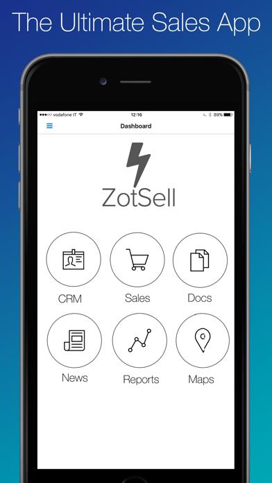 ZotSell B2B Orders screenshot one