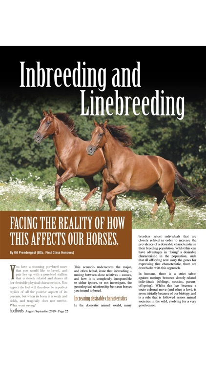 Hoofbeats Magazine screenshot-4