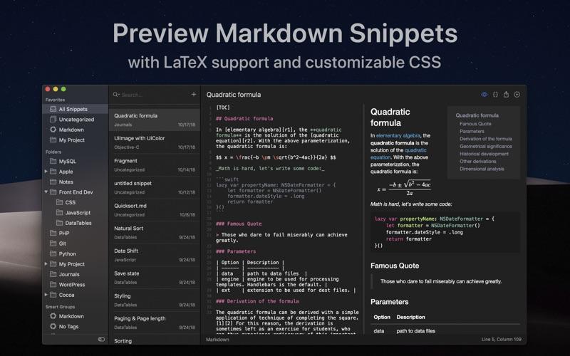 SnippetsLab Screenshots