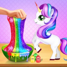 Activities of Unicorn Slime Maker Play