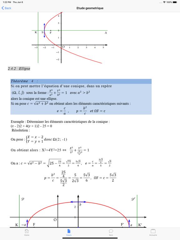 Cours de Maths screenshot 12
