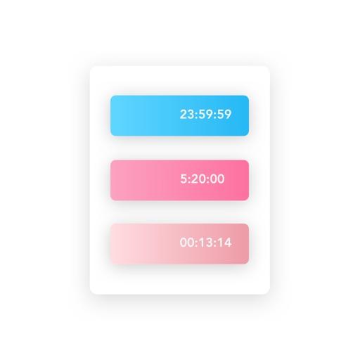 Rainbow Countdown icon