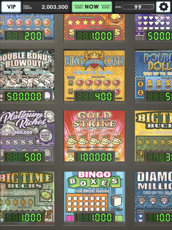 Lucky Lottery Scratchers screenshot 1