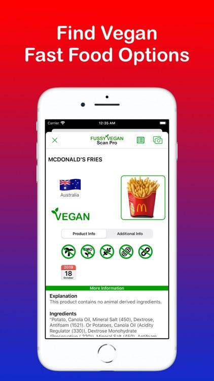 Fussy Vegan Scan Pro screenshot-6