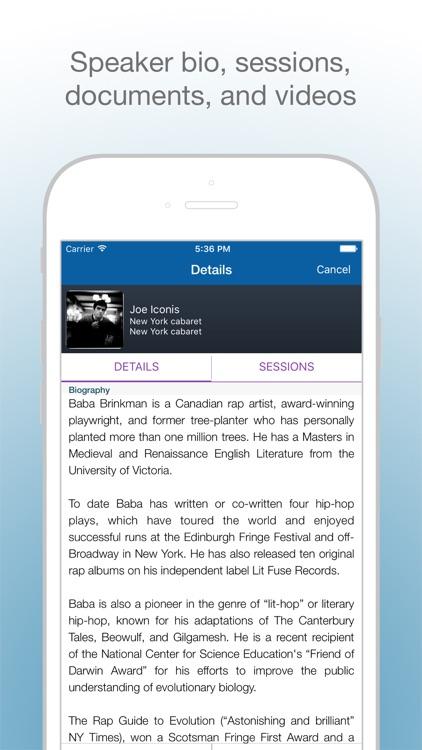 Eventdex- Event Management App screenshot-3