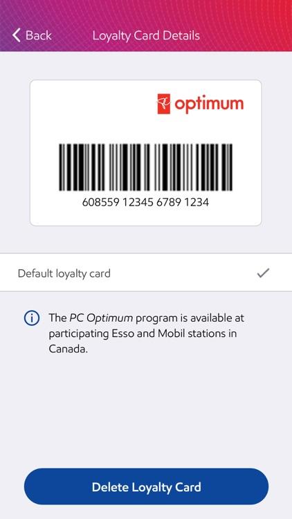 Esso & Mobil Speedpass+ screenshot-3