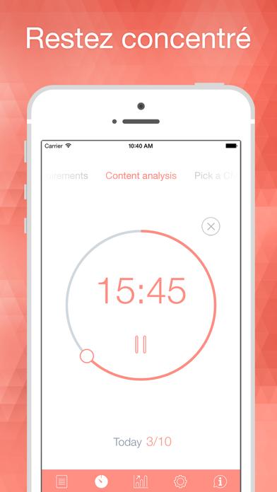 Screenshot Be Focused Pro - Focus Timer